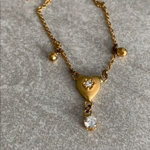 Pretty Dainty Heart Necklace